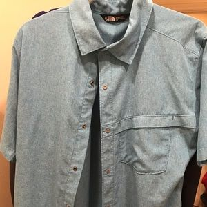 North Face Casual Button Down